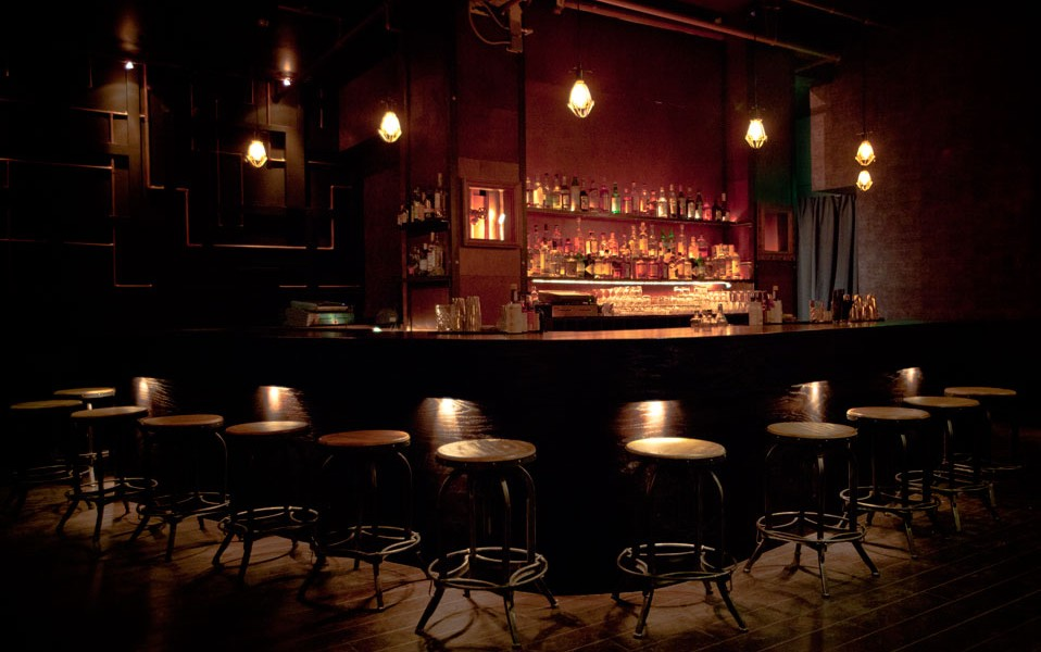 Photo of the bar at Alchemist Bar & Lounge in San Francisco, CA
