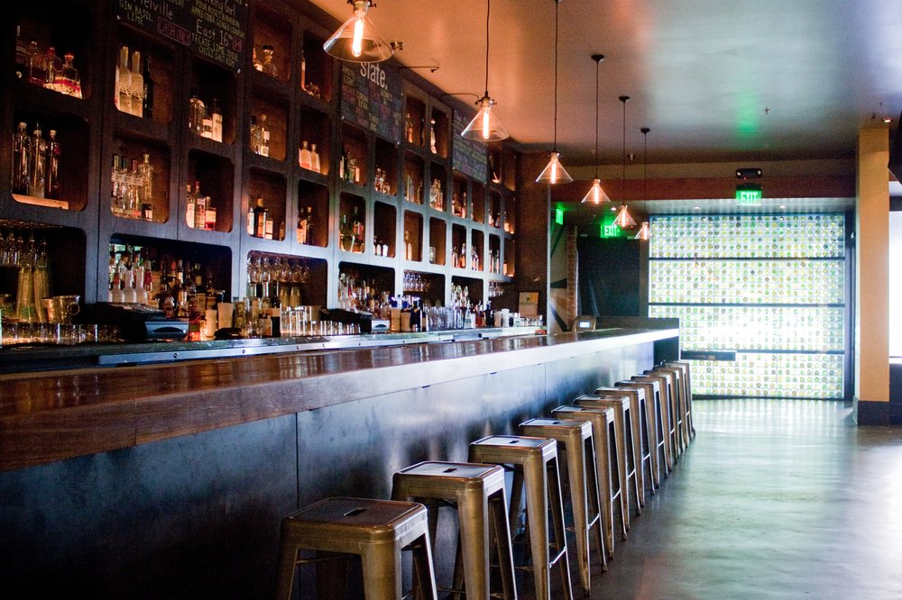 An Interior photo of Slate Bar San Francisco