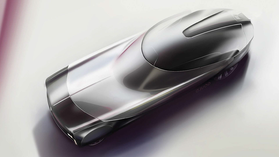 Concept Car Sketch by AAU Student Aaron Gould